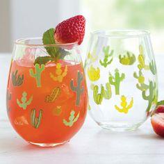 Funky Cactus Acrylic Drinkware - COWGIRL Magazine