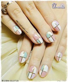 Elegante #Manicure #NailArt