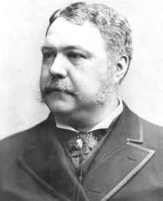President Chester A. Arthur, who threatened Tombstone with the prospect of martial law in the spring of 1882, after the murder of Morgan Earp and retaliatory killings by Wyatt Earp and his band of followers. Coupled with Apache uprisings in southeastern Arizona Territory, these events made Tombstone unattractive to investors and would-be immigrants to the desert southwest. The ultimatum from Washington was poorly received in Tombstone, but the town quieted down all the same.