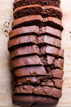 Healthy Chocolate Bread Recipe with a can of coconut milk, cacao powder, honey and spelt flour, without refined sugar and no oil. Delicious, fluffy and moist. | ifoodreal.com