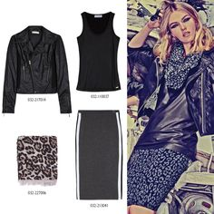 SPORTY but SEXY  We' re really proud of our #ootd! #BSB_FW14 #BSB_collection #dark_colors Dark Colors, Mix Match, Biker, Ootd, Sporty, Sexy, Jackets, Image, Collection