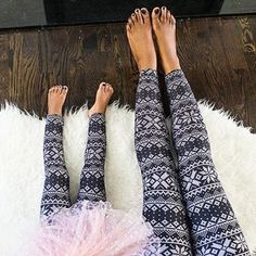 I love the matching! Seeing Mommy & Me posts with SweetLegs on always makes me smile 💕 ⠀⠀⠀⠀⠀⠀⠀⠀ 📷: Patterned Leggings, Of Brand, Mommy And Me, Leg Warmers, Make Me Smile, Posts, My Love, Cute, How To Make