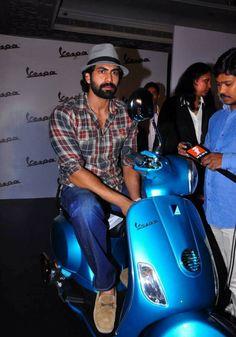 Rana Daggubati @ Vespa VX Scooter Launch
