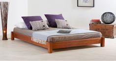 Low Platform Bed (No Headboard)