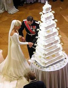 Prince Albert of Monaco And Charlene Wittstock Wedding Cake
