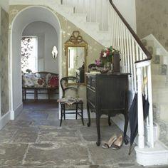 Flur Diele Wohnideen Möbel Dekoration Decoration Living Idea Interiors home corridor - Eleganten Landhausstil Flur