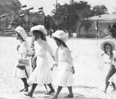OTMA - Grand Duchesses Tatiana, Olga, Maria and Anastasia Nikolaevna