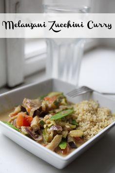 Melanzani Zucchini Curry