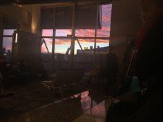 Los Angeles sun sky LAX