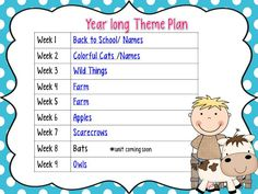 Mrs Jump's class:  Back to School FREEBIES and Year Long Plan {Aligned with Common Core}