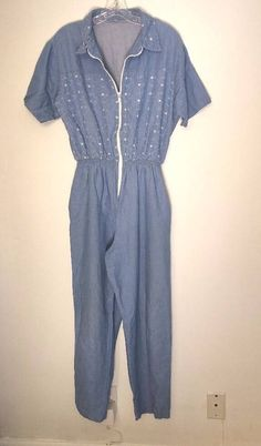 Girls' Clothing (newborn-5t) Clothing, Shoes & Accessories Enthusiastic Vintage 90s Baby Gitano Denim Floral Gingham Baby Girl One-piece Romper 4