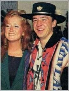 Bonnie and Stevie Ray Vaughan