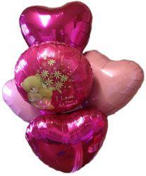 I love you mum balloon bouquet