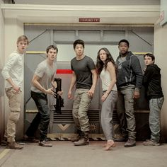 The Scorch Trials<<<<<this is a very inspiring scene for writing!!
