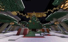 Christmas Village Map For Minecraft PE 0.13.0 - http://minecraftpedownload.com/christmas-village-map/