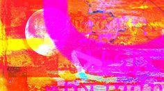 FireMoonBurningClearUniverse by ziggeman Abstract Landscape, Abstract Art, All Wall, Make Art, Digital Art, Instagram Images, Scene, Deviantart, Fantasy