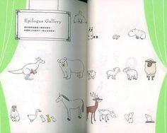 Illustration Cute Animals Sachiko Umoto Japanese Drawing Book Chinese