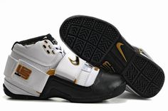 http://www.airfoamposite.com/nike-zoom-lebron-45-white-black-gold-p-349.html Only$85.00 #NIKE #ZOOM #LEBRON 4.5 WHITE BLACK GOLD #Free #Shipping!