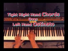 Right-Hand Chords Over a Left-Hand Ostinato