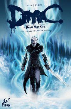 Comics Crux- Titan Comics Takes You Deeper Into DmC With The Chronicles Of Vergil #DMC #Dante #Vergil