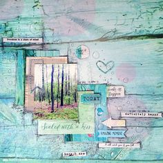 Layout created by Tusia Lech featuring Verano Azul collection