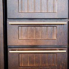 Creative Kitchen Cabinet Ideas: Sleek Cabinet Hardware