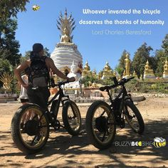 Whoever invented the bicycle deserves the thanks of humanity - Lord Charles Beresford  🐝 🚴‍♀️🚴🏼‍♂️ #buzzybeebike #chiangmai #thailand #ebike #ebiking #fatbike #fatbiking #cyclingtour #cycletour #cycling #electricbicycle #thailandtravel #lovethailand #amazingthailand #thailandholiday #bicycleinventor #bicycleinventions #lordcharlesberesford #charlesberesford