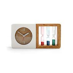 Relojes+de+Arena+novedad+diseño+colorido+reloj+analógico+de+escritorio+(1xAA)+–+EUR+€+40.75