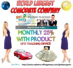 GetEasy	 has	 an	 extraordinary compensation	 plan for	 its	 members.	Under this	 plan,	members can	 make	money	 passively	without	 having	 to	 recruit	 others,	 but	 if	 you	 decide	 to	 build	a	 team	of	 your	 own	you	can	seriously	change	your	life,	financially	speaking.	http://www.cadastro.officegeteasy.com/globalsupport