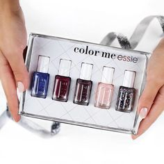 Xmas 2014 colours from #Essie