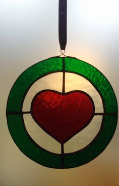 Heart Glass Bauble