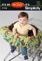 shopping cart seatcover pattern