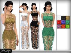 Sims 4 CC's - The Best: Dresses by DarkNighTt