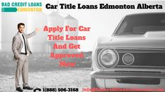 Are you in trouble, facing financial crisis need urgent money. You are on right place car title loans Edmonton will help you and get instant money at your car. car title loans Edmonton is a good way get for cash whereby you can fulfill your needs.