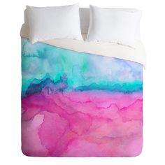 Jacqueline Maldonado Tidal Color Duvet Cover   DENY Designs Home Accessories