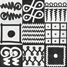 Graphic black and white How Sicilian ceramics Placed in damier, the Bisazza glass mosaic Halo-Halo signed by Paola Navone. The tiles 1x1 cm ...