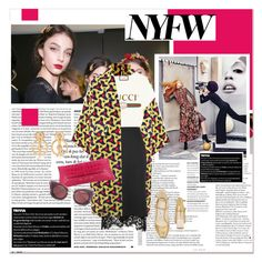 """""""#nyfw - New York Fashion Week"""" by stylemeup-649 ❤ liked on Polyvore featuring Dolce&Gabbana, Jimmy Choo, Ultràchic, Gucci and Dorothee Schumacher"""