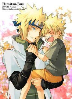 Baby naruto and dad