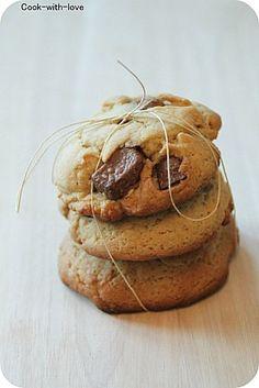 Cookies aux Kinder maxi