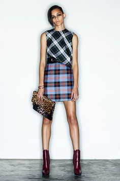 Mad for Pre-Fall's perfect plaids, love this look by McQ Alexander McQueen.
