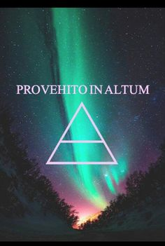 "Provehito In Altum"" is a Latin metaphor and can be translated in three different ways: ""March on into higher grounds"" ""Launch forth into higher grounds"" ""Launch forth into the deep"""