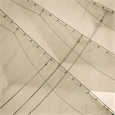 Head Sails of a Tall Ship Giclee Print by Michael Kahn at AllPosters.com
