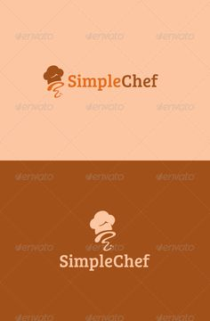 Simple Chef Logo — Vector EPS #bakery #chef • Available here →…