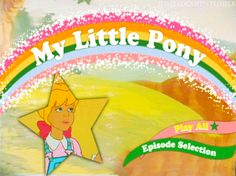 My Little Pony n Friends Box Set Dvd Menu!
