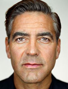 George Clooney - Up Close & Personal -Celebrity Photography By Martin Schoeller