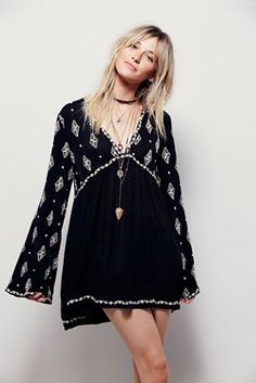 Free People Diamond Embroidered Top at Free People Clothing Boutique