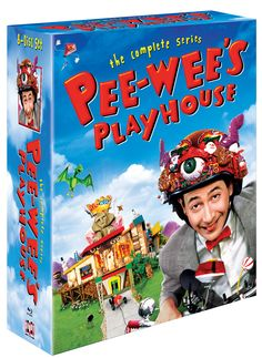 "GeekMom Review: ""Pee-wee's Playhouse: The Complete Series"" on Blu-Ray."