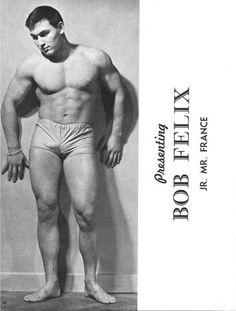 Bob Felix in the very early 1960s.