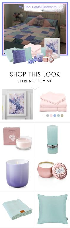 """Pastel Decor -my real Pastel bedroom. #pasteldecor"" by lorrainekeenan ❤ liked on Polyvore featuring interior, interiors, interior design, home, home decor, interior decorating, PBteen, Williams-Sonoma, Lene Bjerre and Jonathan Adler"