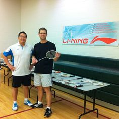 TRUE LOVE FOUND! Tim Yu held a Demo Day at College Boreal and introduced Steven Raymond to the new love of his life! The ULTRA SHARP TurboCharging N7 badminton racket! Live in the Sudbury, ON area? See Tim Yu for premium quality, high tech, cutting edge Li-Ning badminton rackets that are engineered to elevate your game to the next level. www.shopbadmintononline.com #MakeTheChange!